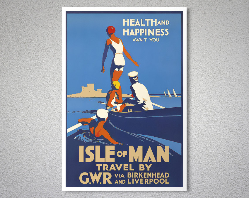 Health and Happiness Await You Isle of Man – Vintage ...