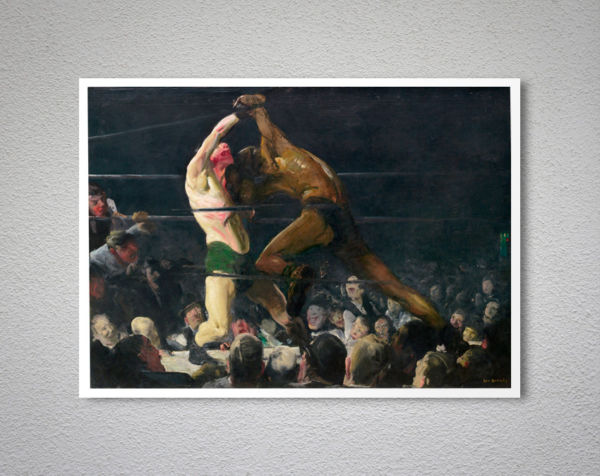 an interpretation of both members of this club a painting by george bellows George bellows was organized by the national gallery of art, washington, in association with the metropolitan museum of art, new york both members of this club (1909) oil on canvas national gallery of art, washington, chester dale collection george bellows new york boxing painting.