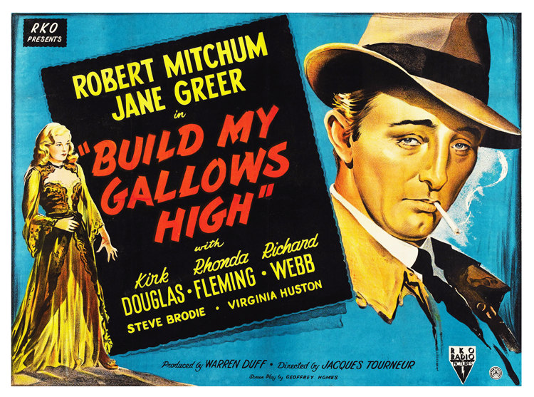 Build my Gallows High Movie Poster – Robert Mitchum | Arty Posters