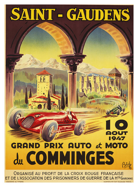 Home   Grand Prix Posters   Saint Gaudens Grand Prix, 10 Aout 1947 ... 1c3184c1465