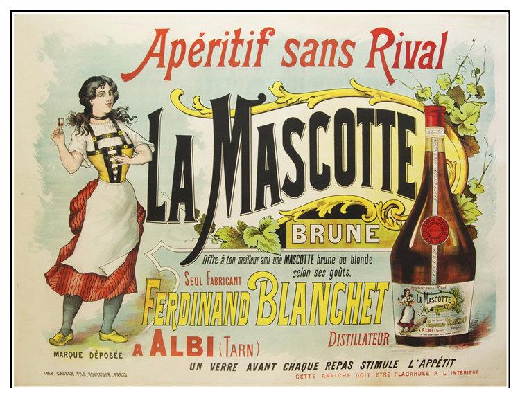 Posters In Interieur : Aperitif sans rival la mascotte food drink poster u arty
