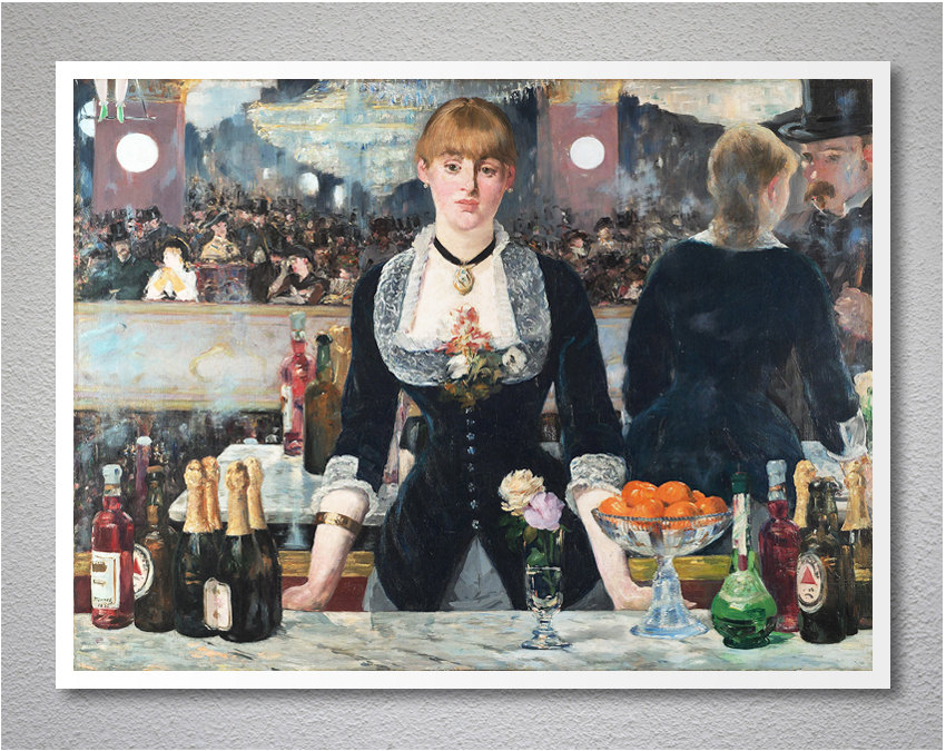 Manets Bar at the FoliesBergere Getty Center Exhibitions