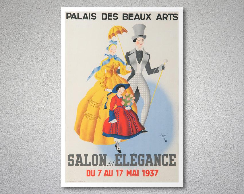 Palais des beaux arts salon del elegance vintage for Salon des beaux arts