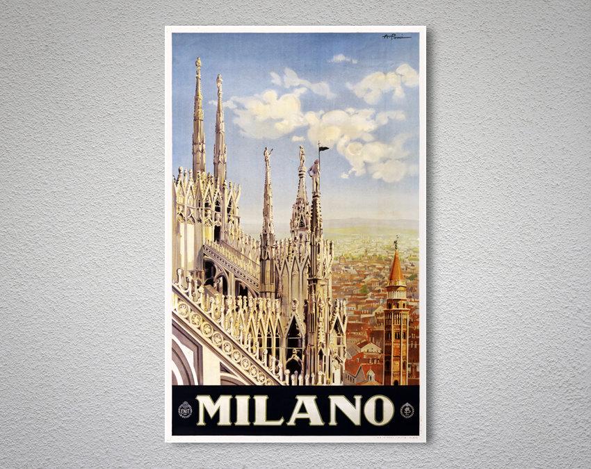 Милан открытка, чудного утра