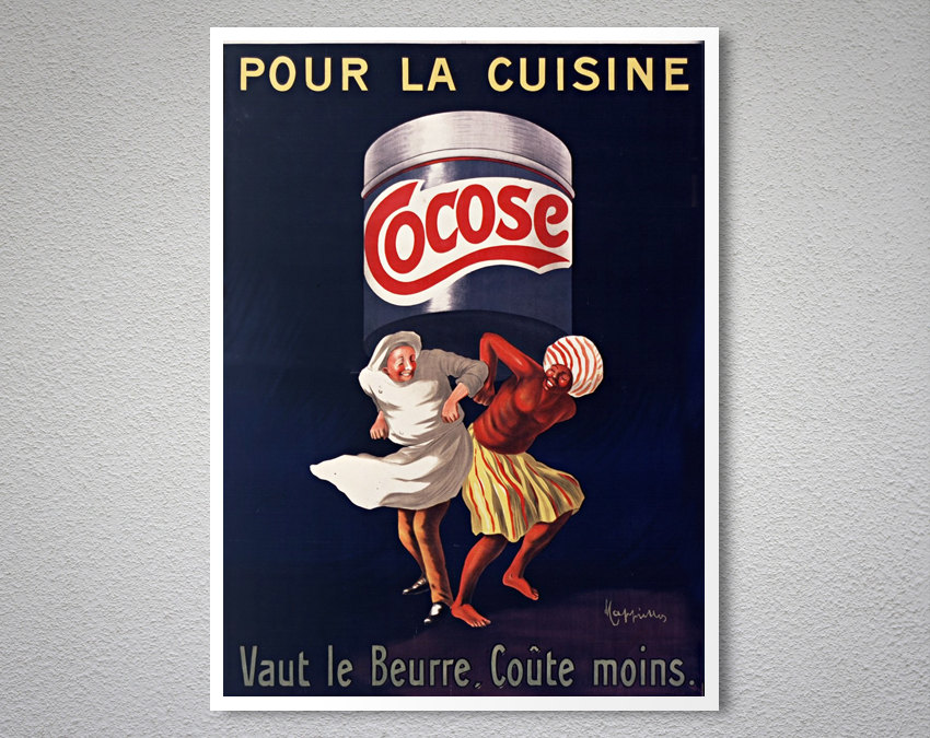 pour la cuisine cocose vintage food drink poster by jean d ylen arty posters. Black Bedroom Furniture Sets. Home Design Ideas