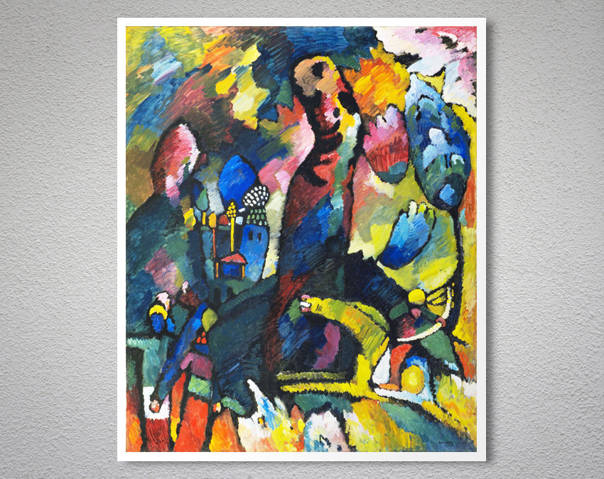 Picture With An Archer By Wassily Kandinsky Arty Posters
